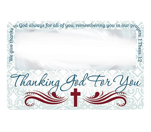 Thanking God for You Magnifying Bookmark - 24/pk