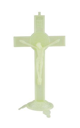 Luminous Standing St. Benedict Crucifix - 6/pk