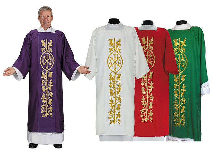 Chi Rho Dalmatic - Set of 4