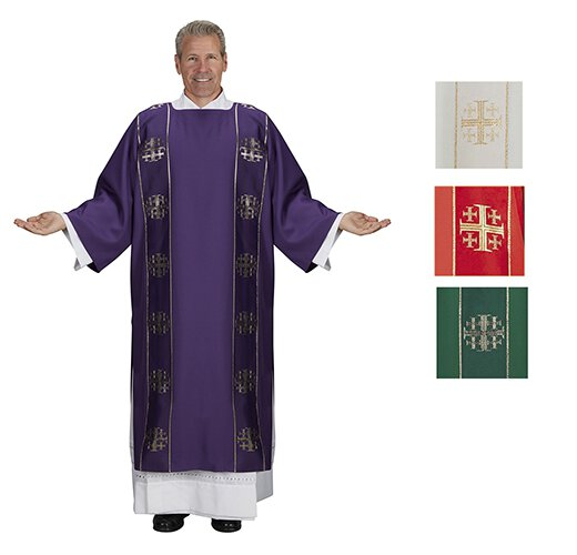Jerusalem Cross Dalmatic - Set of 4