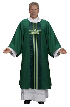 Lucia Collection Dalmatic - Loaves and Fishes