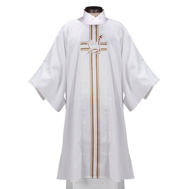 Lucia Collection Dalmatic - Lamb of God