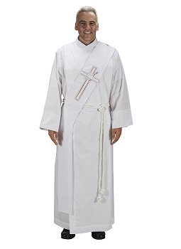 Lucia Collection Deacon Stole - Lamb of God