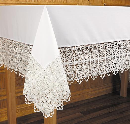 Budded Cross Altar Cloth