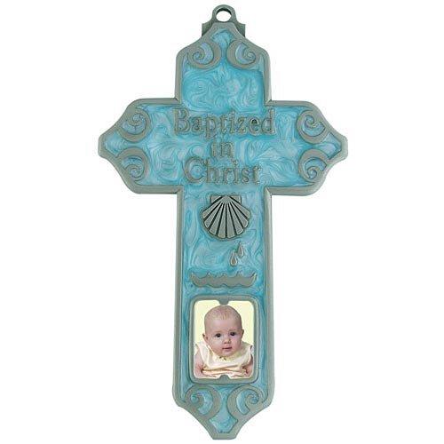 Baptized in Christ Cross for Boys