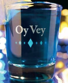 Shot Glass OY-VEY
