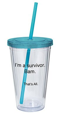 16oz I'm A Survivor