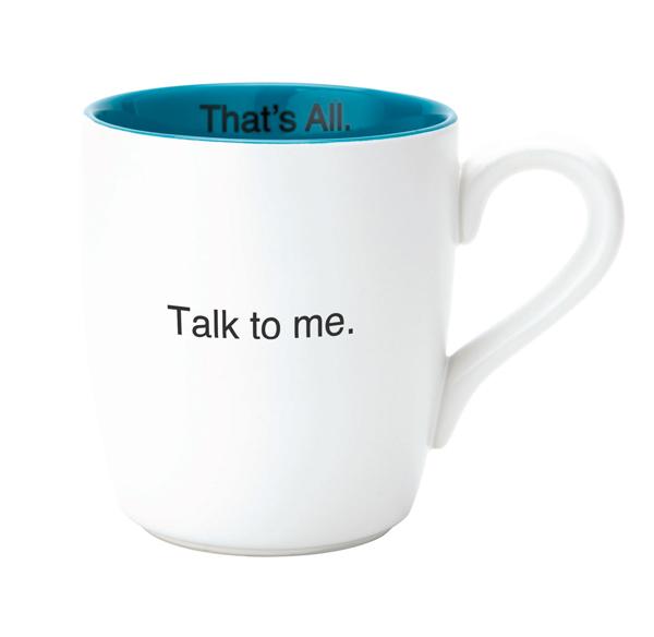 16oz Mug Talk To Me