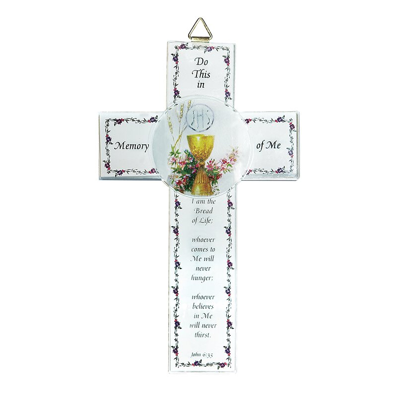 Bread of Life Wall Cross - 12/pk