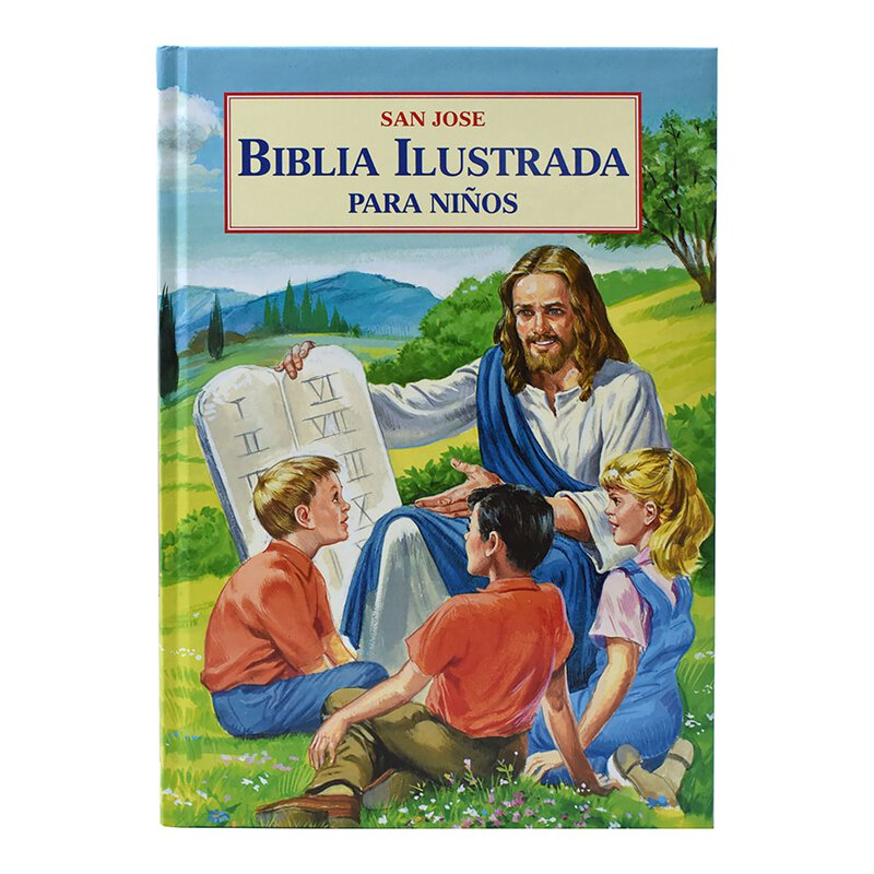 Biblia Ilustrada para Ninos (Illustrated Children's Bible)