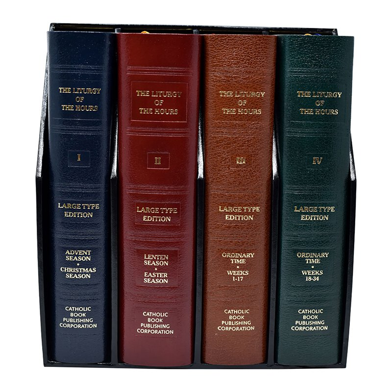 Liturgy of the Hours - 4 Volume Set (Large Print Edition)