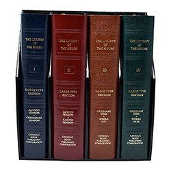 Liturgy of the Hours - 4 Volume Set -Large Print Edition-