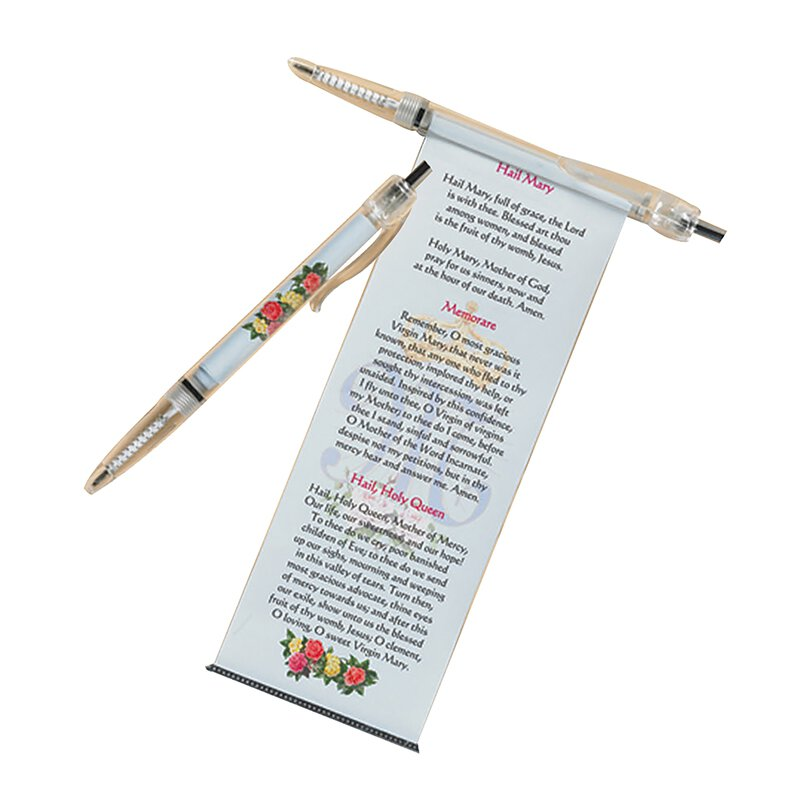 Catholic Pull-out Prayer Pen