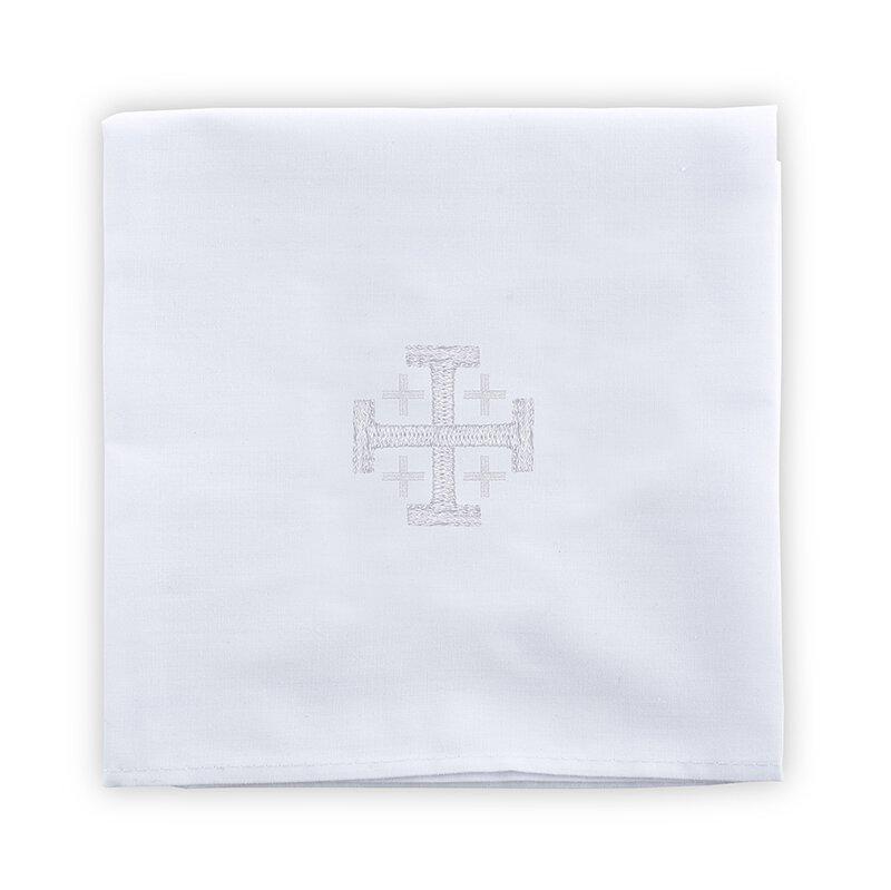 100% Linen Jerusalem Cross Corporal - 4/pk