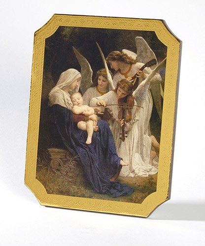 Song of Angels Marco Sevelli Florentine Plaque - 2/pk