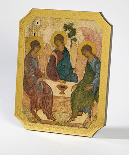 Holy Trinity Marco Sevelli Florentine Plaque - 2/pk