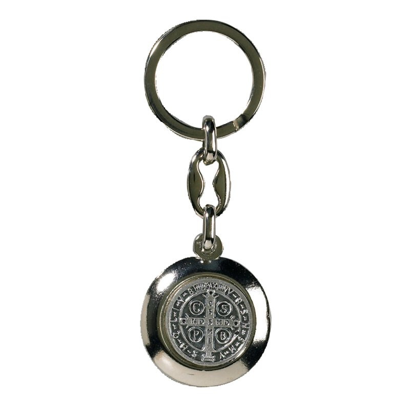 St Benedict Key Chain