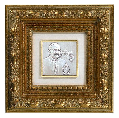 Gold Leaf Frame - Pope Francis