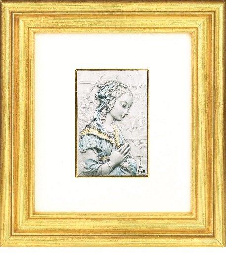 "Lippi: Madonna 6.375"" x 7"" Framed Print"