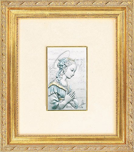 """Lippi: Madonna 7.5"""" x 9"""" Framed"""