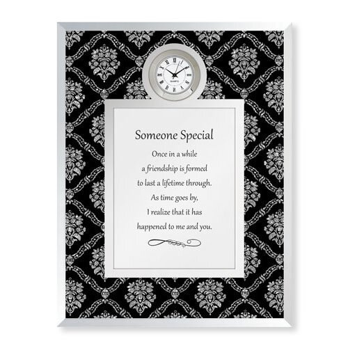 Someone Special Framed Table Clock