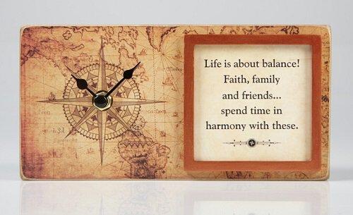 Life & Harmony Clock