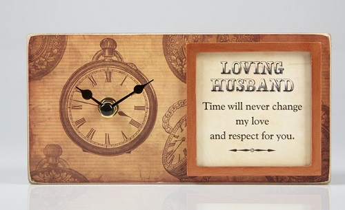 Loving Husband Clock