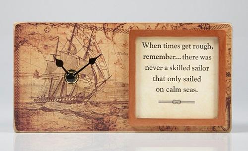 Skilled Sailor Clock