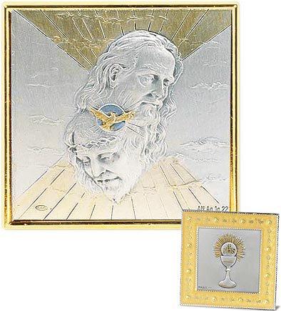 Holy Trinity Gold Enamel