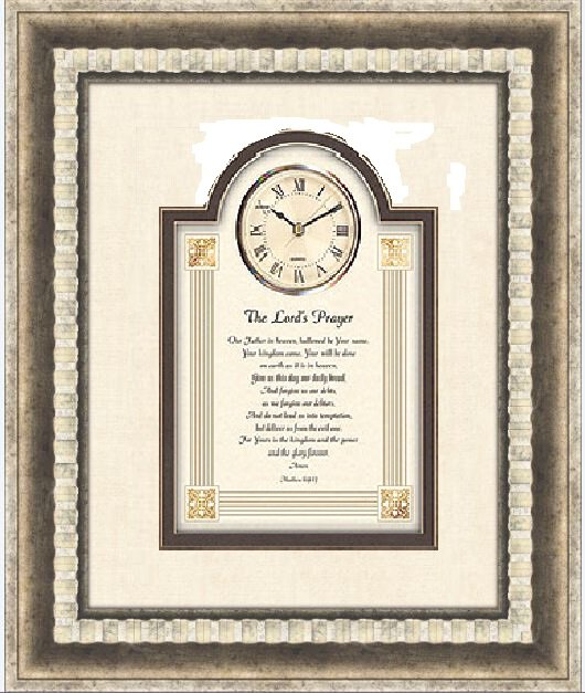 Lords Prayer Clock