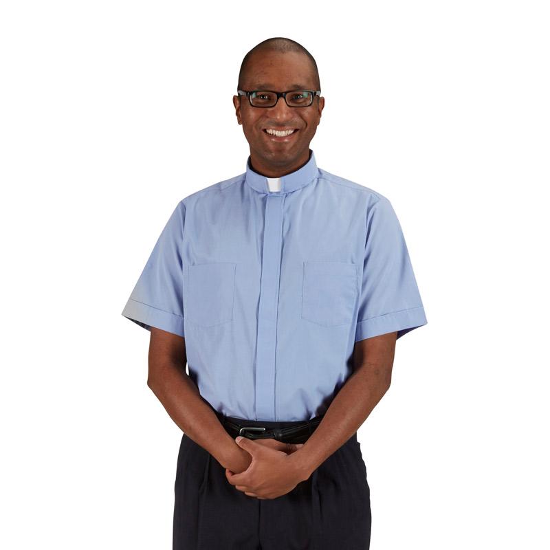 R. J. Toomey™ Summer Comfort Short Sleeve Clergy Shirt
