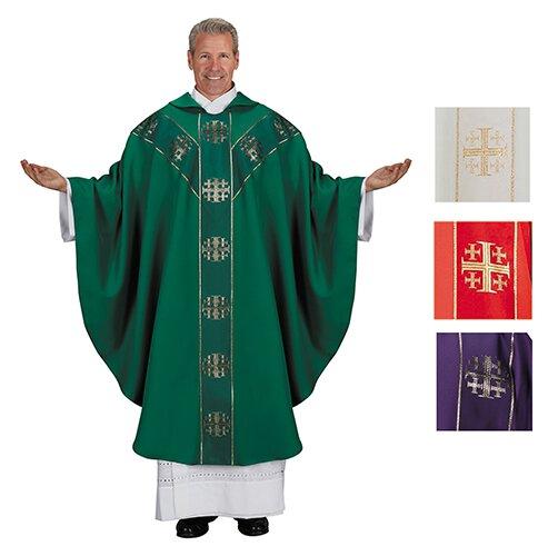 Jerusalem Cross Chasuble