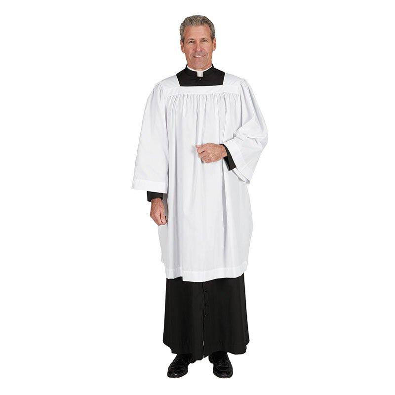 Clergy Square Neck Surplice