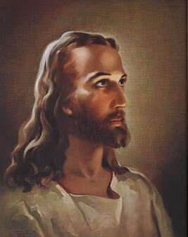 Print Sallman: Head of Christ - 100/pk