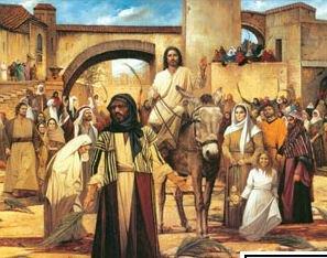 Print Christ Jerusalem