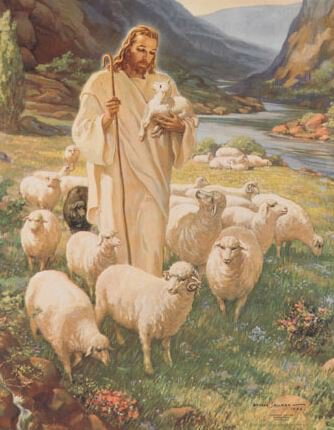 Print Sallman: Lord Is My Shepherd