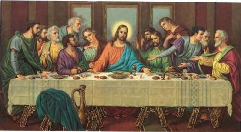 Print Last Supper