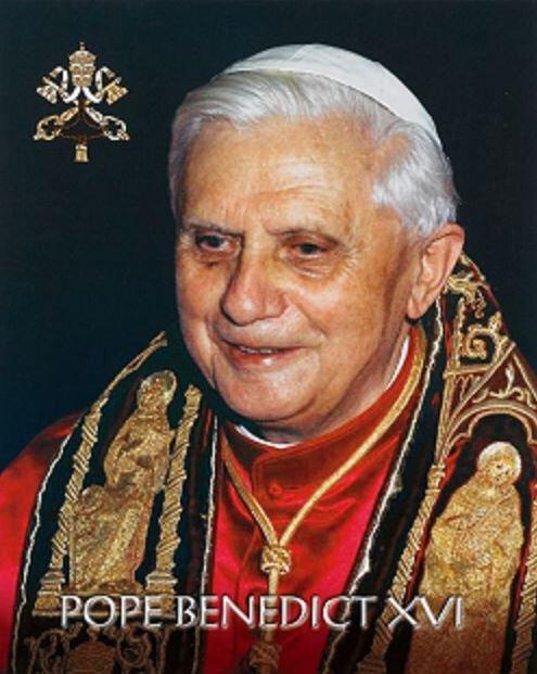 Print Pope Benedict XVI