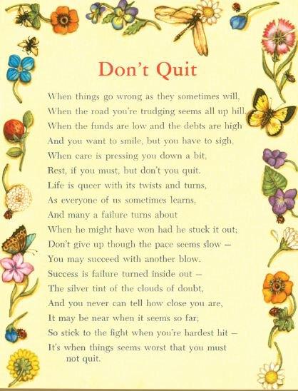 Print Don't Quit