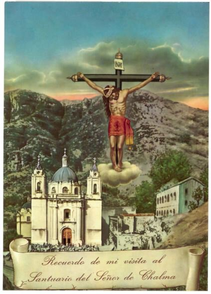 Print Crucifixion Spanish