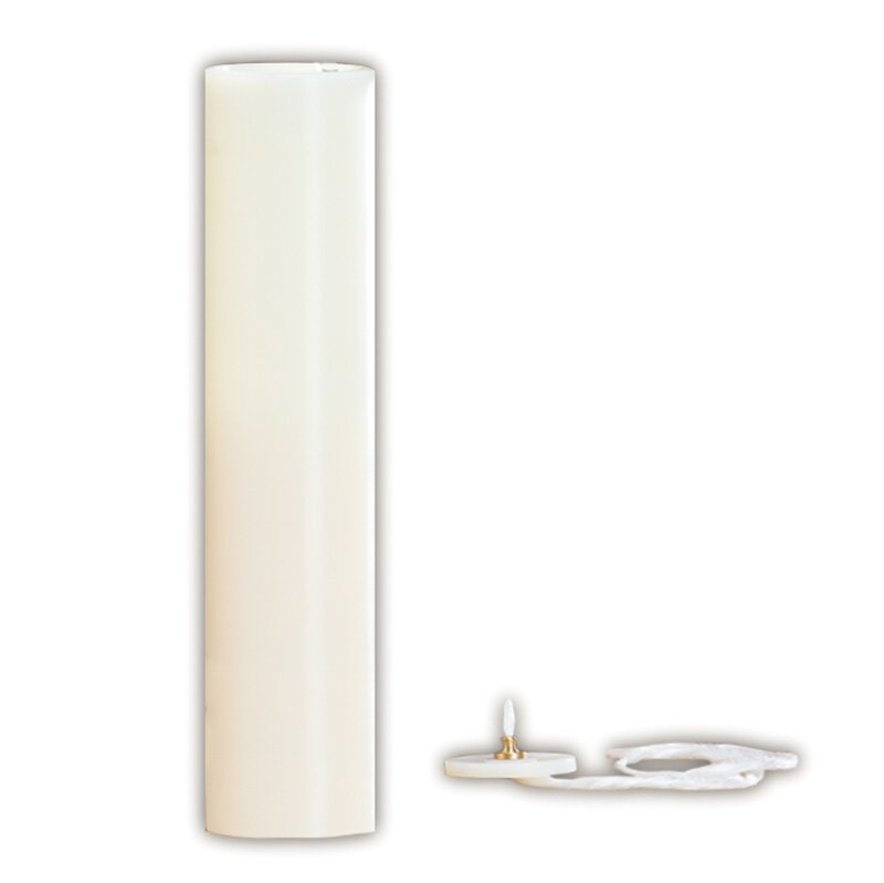 "Lumen Deo® Nylon Candle Shell with Flexa-Glow Top - 2-5/8"" Dia"