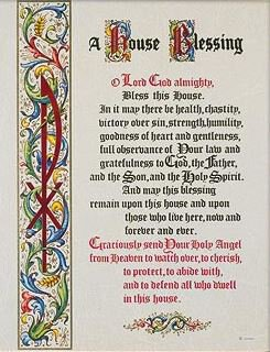 Print A House Blessing