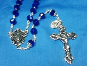 Rosary Dark Blue