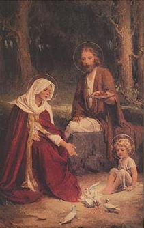 Print  Chambers: Holy Family