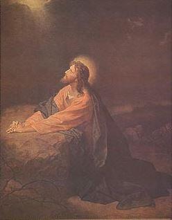 Print Hofmann: Christ in the Garden