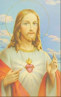 Print Sacred Heart of Jesus