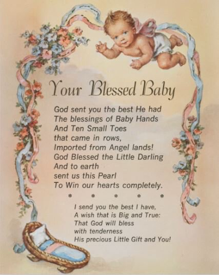 Print Your Blessed Baby