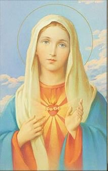 Print Immaculate Heart of Mary