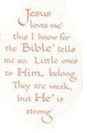 Print Calligraphy Verse Jesus Loves Me