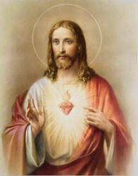 Print Sacred Heart of Jesus